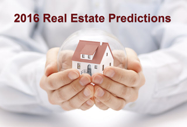 Madison Real Estate Predictions 2016