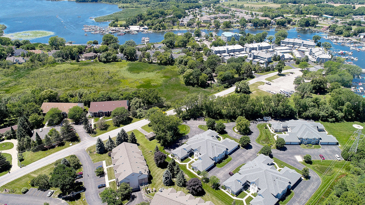 Drone Real Estate Listing Photo