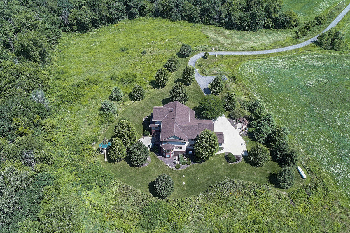 luxury real estate listing aerial photos