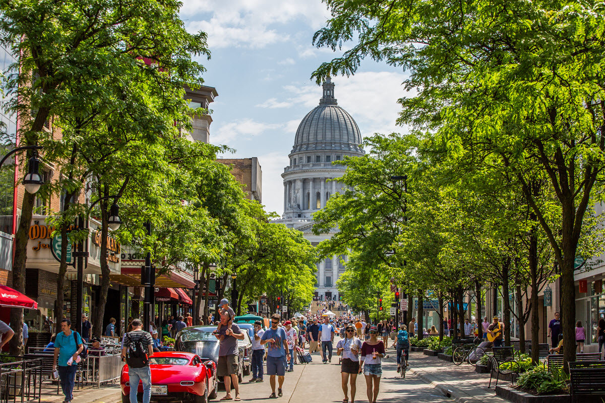 Madison WI - A Great Place to Own Real Estate