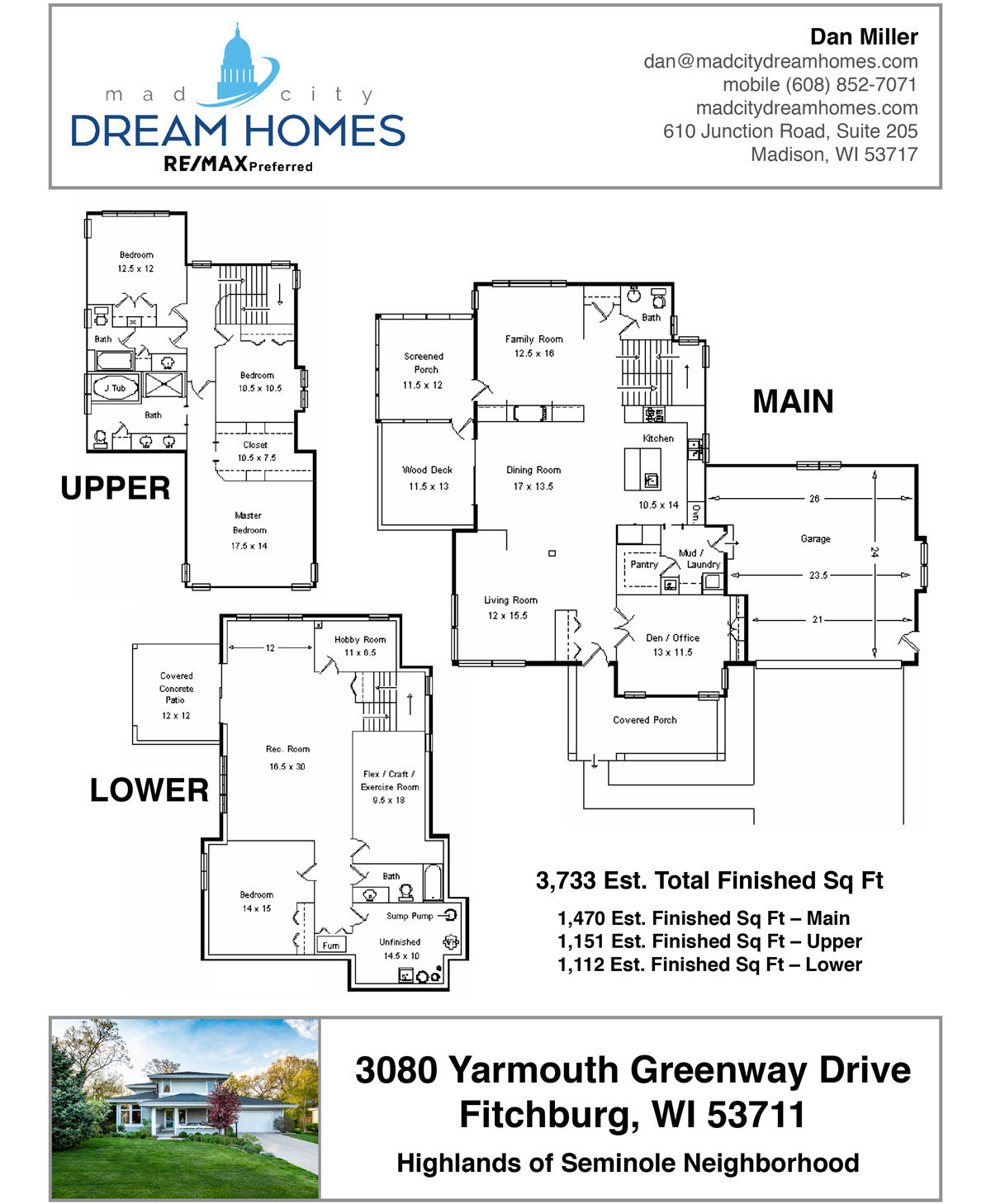 Floor Plan for Real Estate Listing