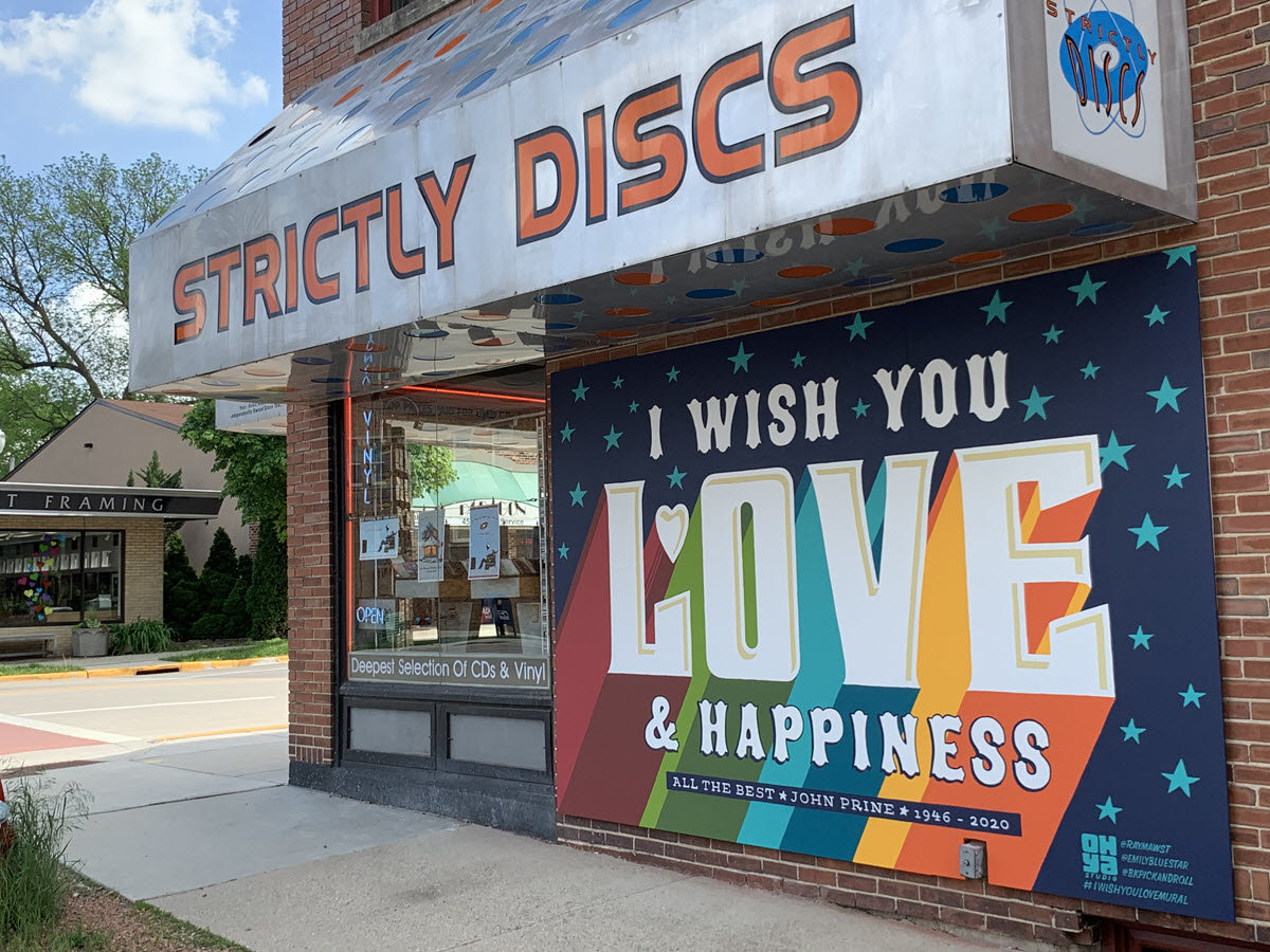 Strictly Discs on Monroe St Madison WI