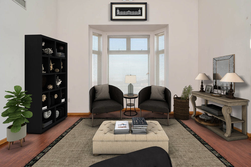 Virtual Staging a Real Estate Listing