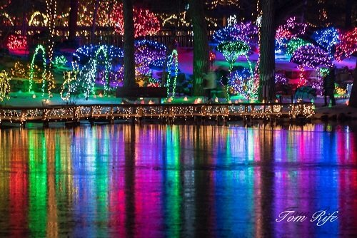Holiday Light Show in Janesville