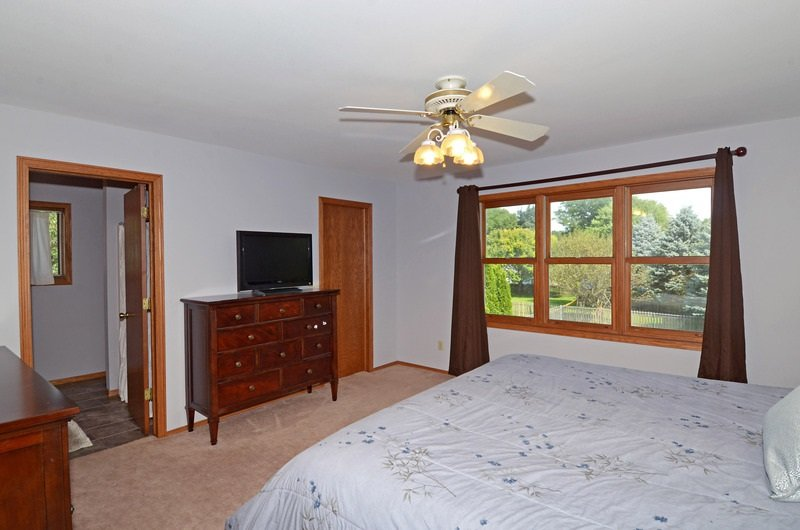 Master Bedroom without Staging