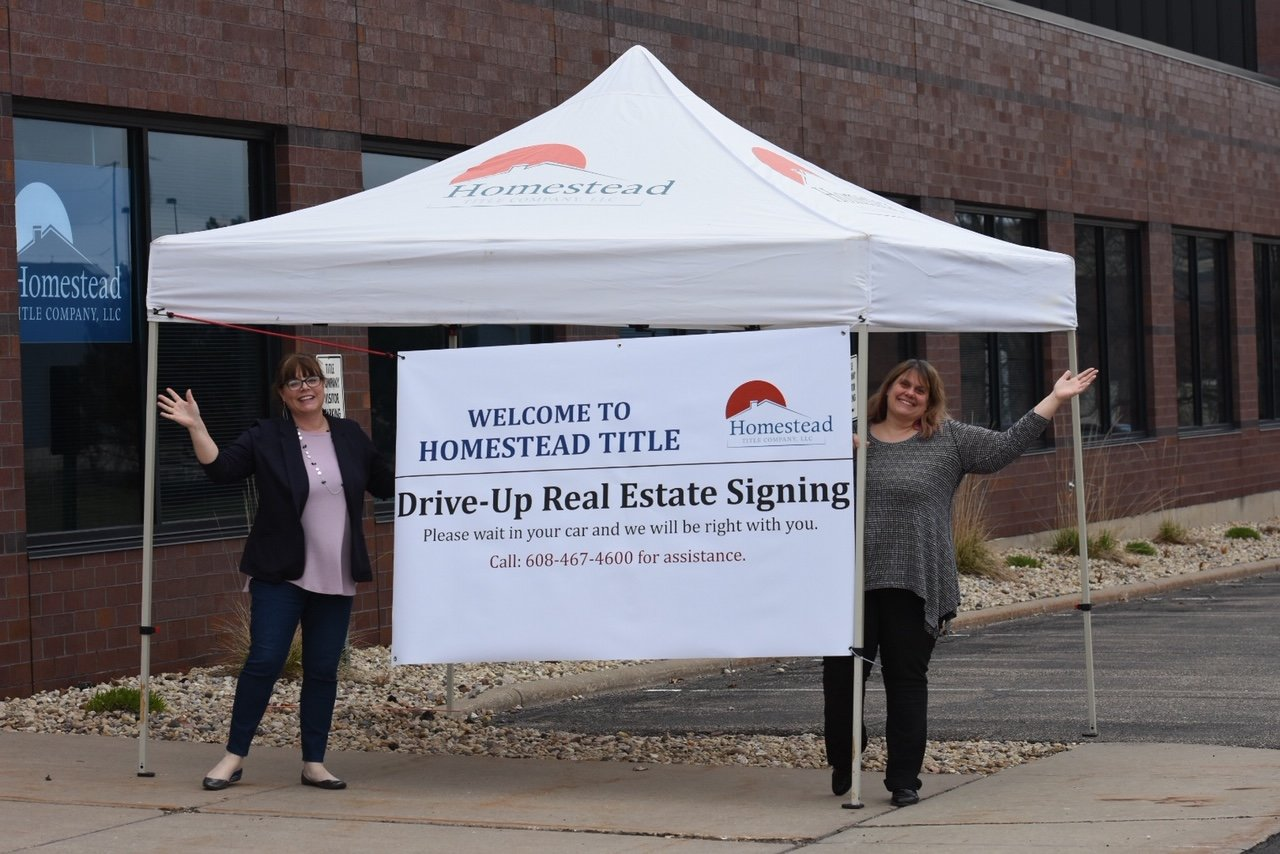 Homestead Title's drive-up closing