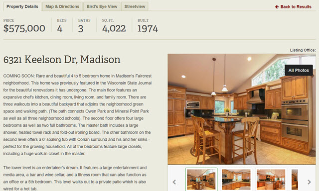 Mad City Dream Homes Coming Soon Listing