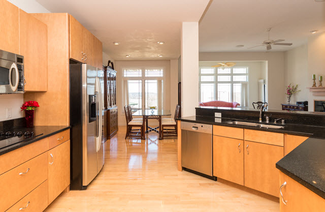 Crosswinds Condominium Kitchens