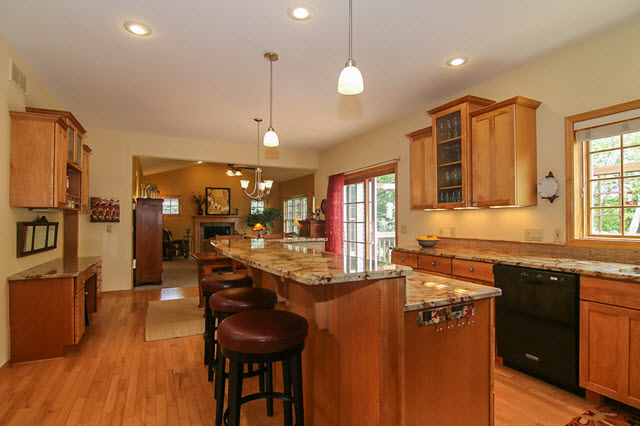High End Kitchen Highlands of Seminole