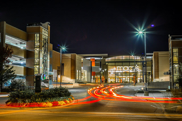 Hilldale Mall at Night