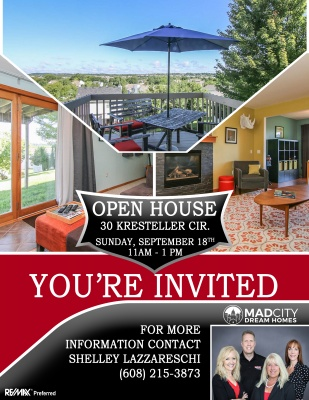 Open House Advertising In Madison Wisconsin