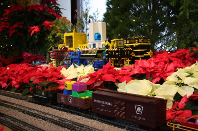 Holiday Express and Legos