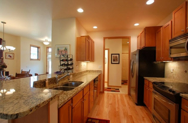 Sandhill Condominium High End Kitchens