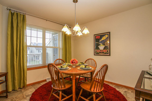 Dinette After Professional Home Staging