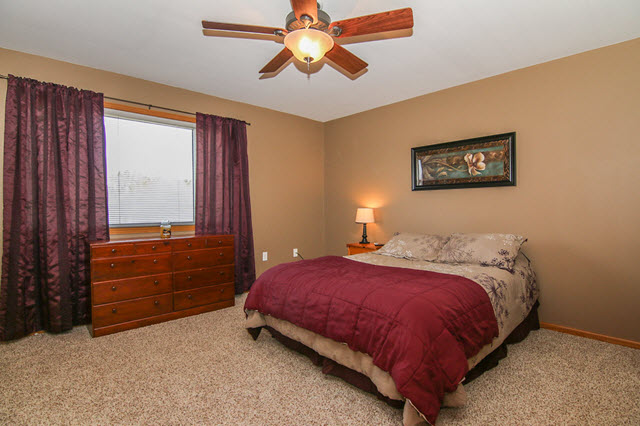 Westchester Townhomes - Bedrooms on 2nd Level